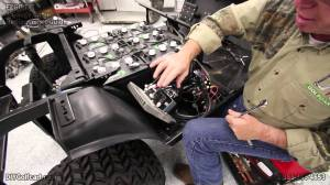 EZGO Heavy Duty Battery Cable Upgrade | How to Install Golf Cart Cables | 4 Gauge  YouTube