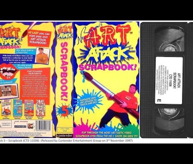 Art Attack Scrapbook Vhs