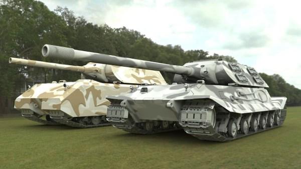 World Of Tanks German Maus tank showcase - YouTube