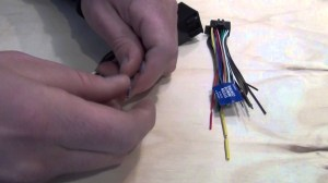 WIRING HARNESS ADAPTER FOR INSTALLATION OF AFTERMARKET