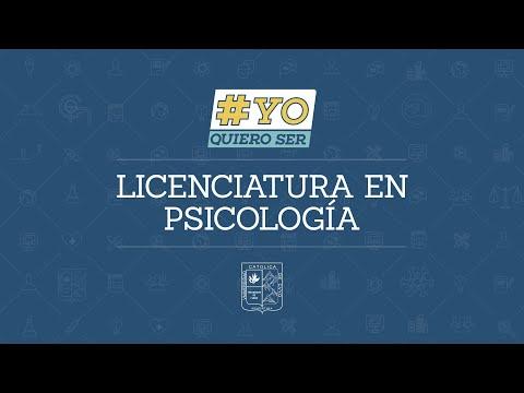 #YoQuieroSer: Psicología