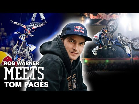 Meet The Legend of Freestyle Motocross: Tom Pagès
