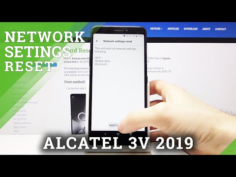 How to Reset Network Settings in ALCATEL 3V 2019 – Reset Connection Preferences