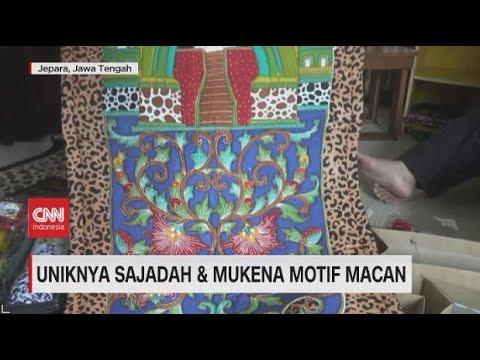 Uniknya Sajadah & Mukena Motif Macan
