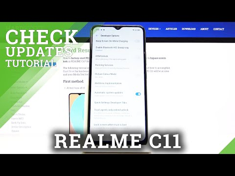 How to Enable Automatic Update in REALME C11 - Auto Updates