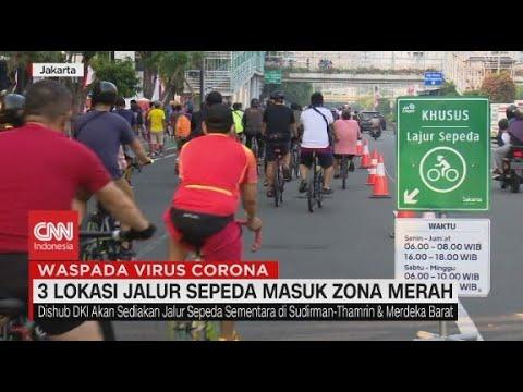 3 Lokasi Jalur Sepeda Masuk Zona Merah