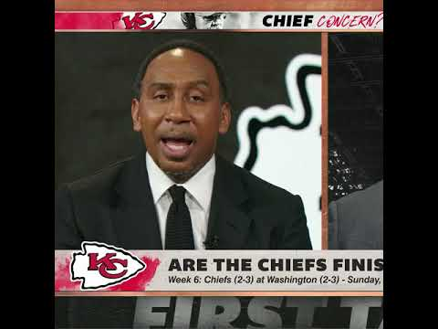 Stephen A. doesn't expect the Chiefs' defense to get any better for the rest of the season | #Shorts