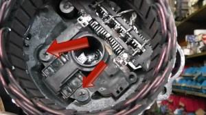 Mitsubishi alternator repair  brush change Fits Pajero, Kia,Pegeot and many more  YouTube