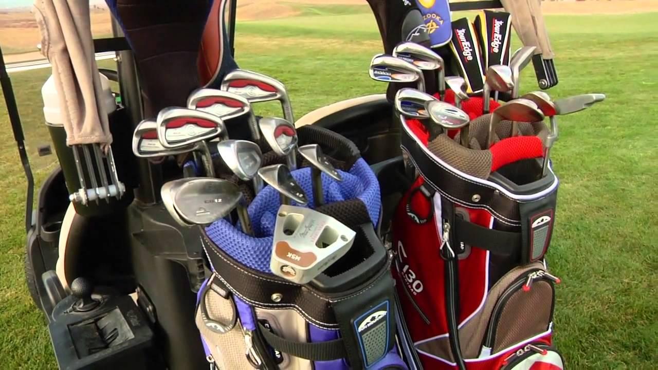 Golf Galaxy Sun Mountain C 130 Cart Bag
