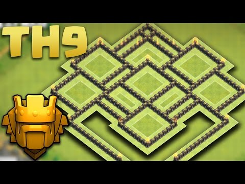 Clash Of Clans Town Hall 9 TH9 Best War Base 2015
