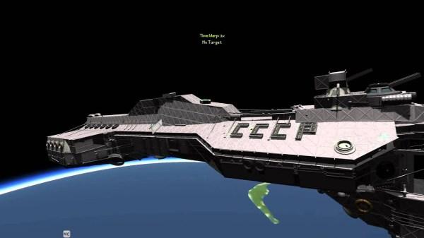 "Kerbal Space Program: USSR ""Korolev class Battle Cruiser ..."