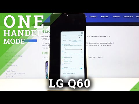 How to Enable One Handed Mode in LG Q60 – Activate Mini View Feature