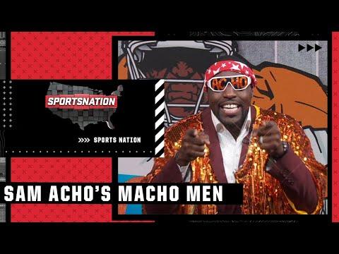 Sam Acho's 'Macho Men' of Week 7 include Joe Burrow & Ja'Marr Chase | SportsNation