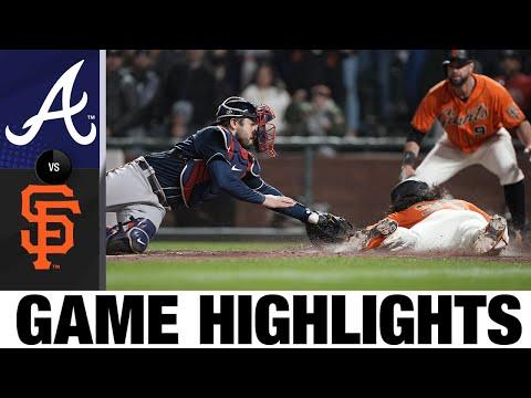 Braves vs. Giants Game Highlights (9/17/21)   MLB Highlights