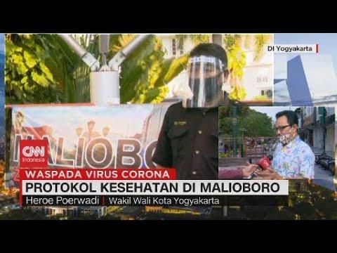 Pandemi Covid-19, Malioboro Terapkan Pembagian Zona Kunjungan