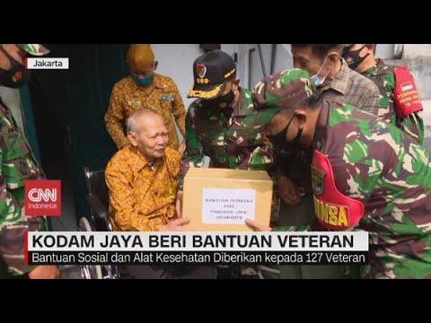 Sambut Hari Pahlawan, Kodam Jaya Beri Bantuan Veteran