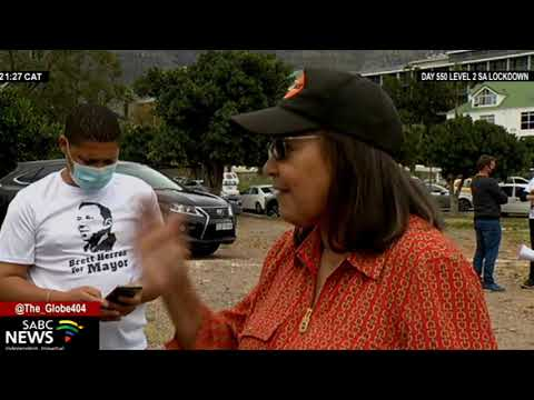 LGE 2021 I  Good Party leader Patricia de Lille calIs for better housing in Cape Town