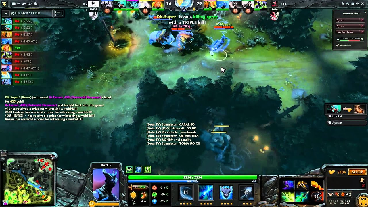Dota 2 The International 2013 The Longest Match Of