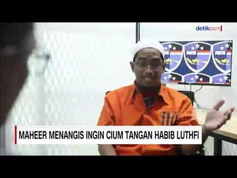 Maheer Menangis Ingin Cium Tangan Habib Luthfi
