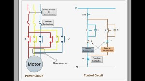 Control circuit for forward and reverse motor  YouTube