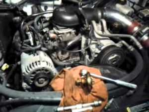 Thermostat replacement in the s10, 43  YouTube