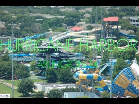 six flags hurricane harbor arlington tx - YouTube