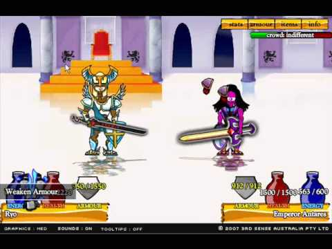 Swords and Sandals 2 Final Bosses YouTube