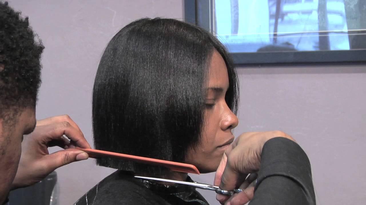 How To Cut A Short Bob Style Hair Cut Hair Care