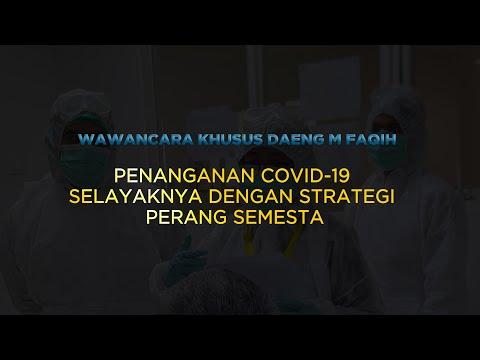 Penanganan Covid-19 Selayaknya Dengan Strategi Perang Semesta | Katadata Indonesia