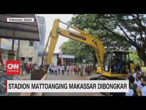 Stadion Mattoanging Makassar Dibongkar