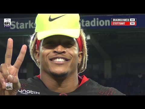 GFL 2019: New Yorker Lions - Stuttgart Scorpions