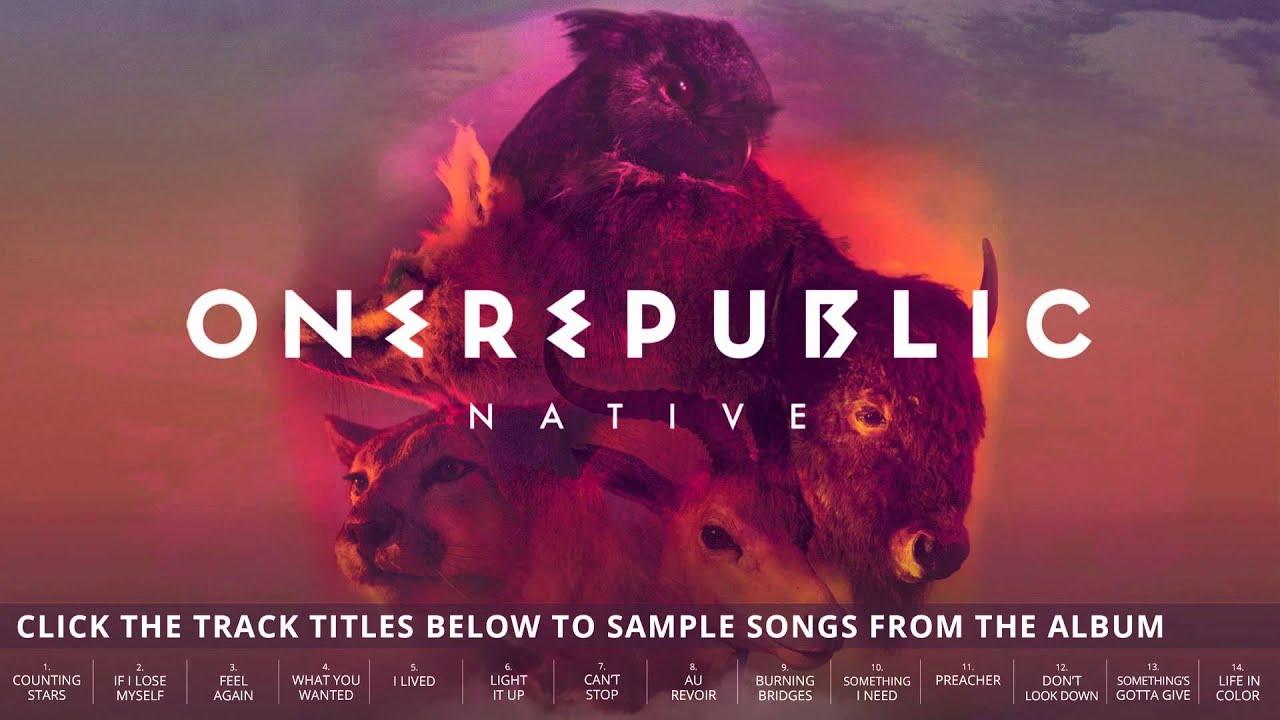 Onerepublic Native Album Sampler Onerepublic Youtube