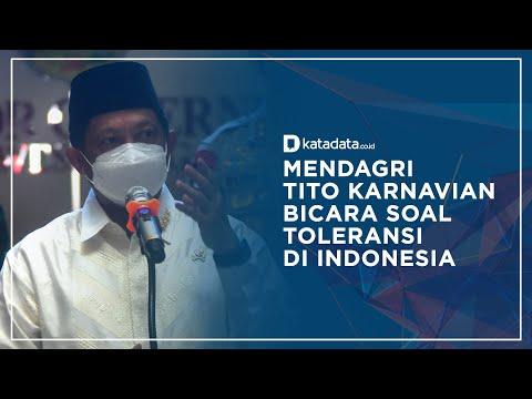 Mendagri Tito Karnavian Bicara Soal Isu Toleransi di Indonesia I Katadata Indonesia