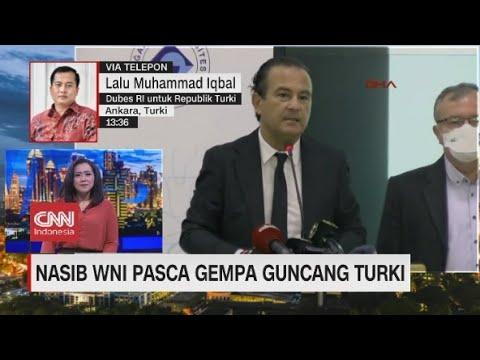 Nasib WNI Pasca Gempa Guncang Turki