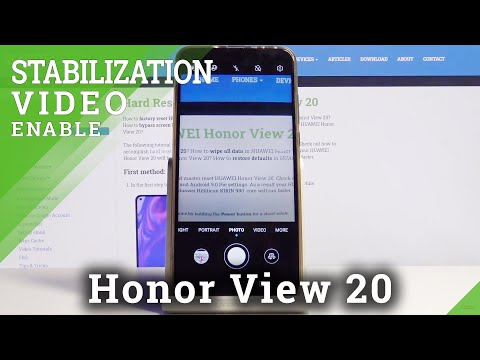 How to Change Video Resolution in Honor View 20 – Video Quality