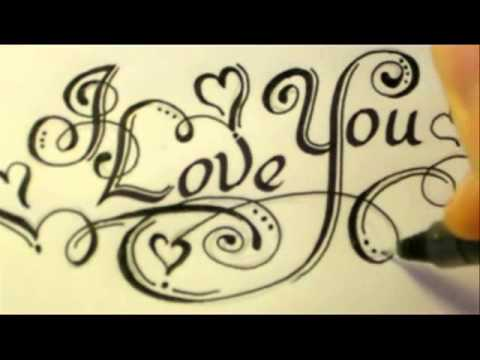 3 Ways How To Draw I Love You. - YouTube