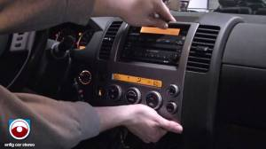 2005 Nissan Pathfinder Radio Removal  YouTube