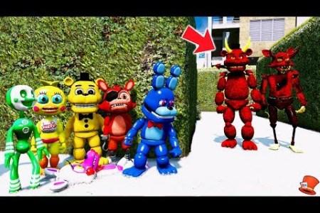 fnaf world adventure animatronics path decorations pictures full