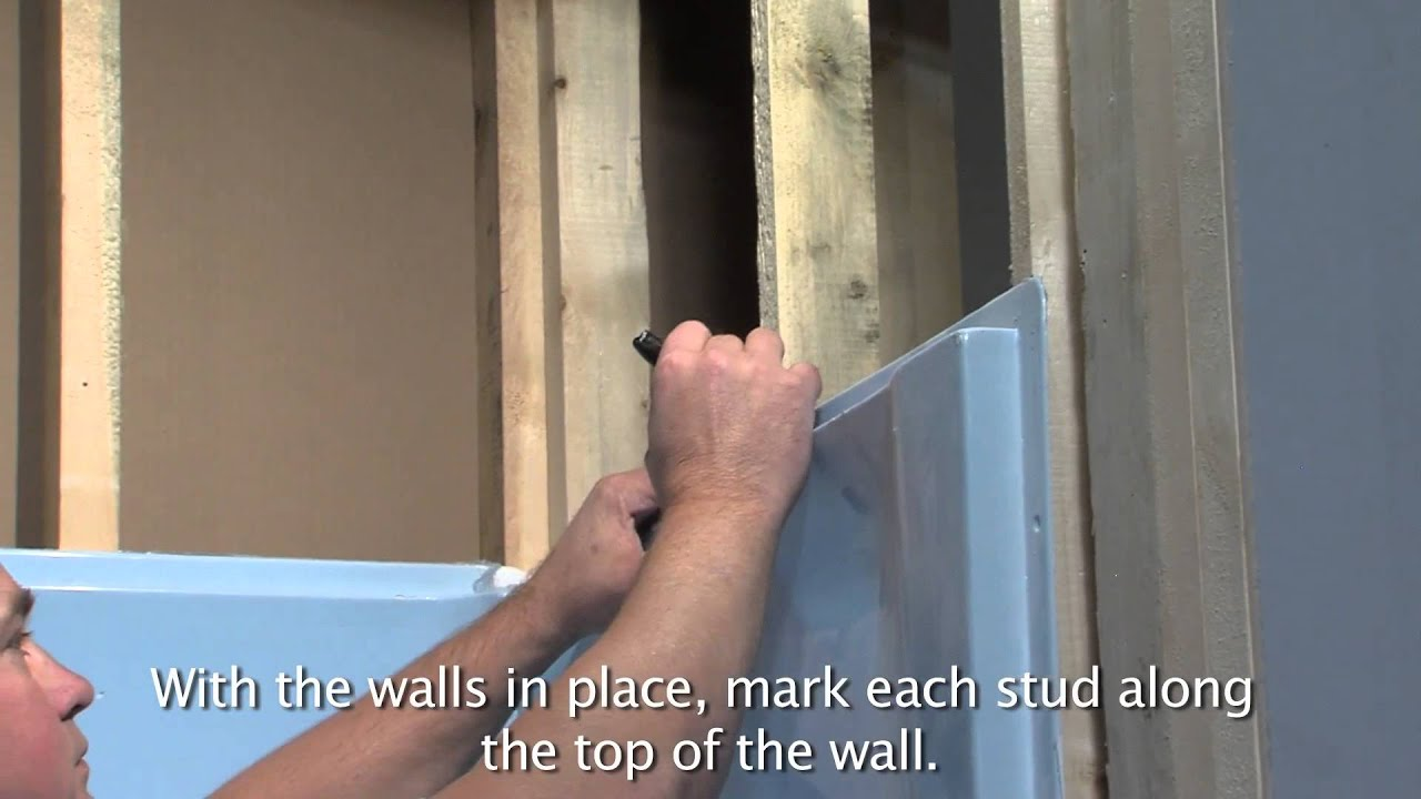 Lyons Victory Tub Amp Wall Installation YouTube