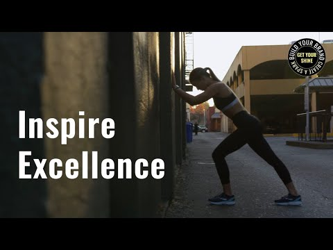 Ignite Excellence: Get inspired to shine with this video to help you find the best version of yourself by building the athlete of your personality.