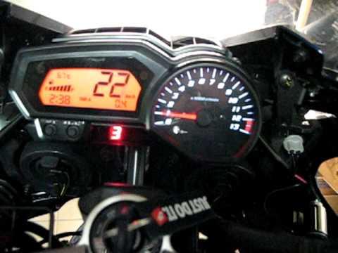 Gear Indicator Ganganzeige Yamaha Fz1