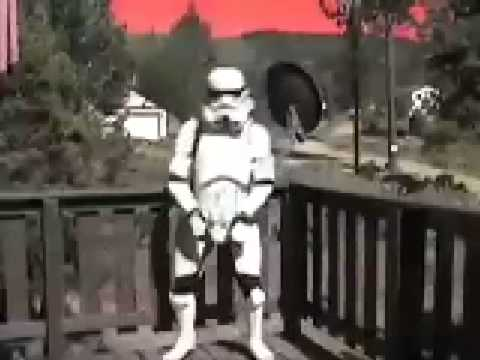 funny stormtrooper - YouTube