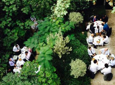 Déjeuner d'entreprise - Hôtel Particulier Montmartre