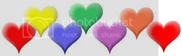 coloredheartsborder.jpg colored hearts border image by oletyme_newtyme