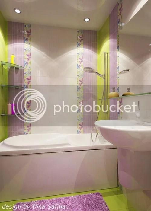 Интерьеры маленьких ванных комнат (фото)