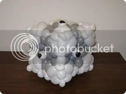 companion cube balloon
