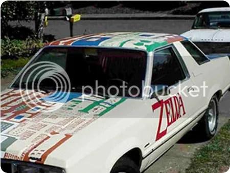zelda car