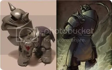 alphonse elric my little pony
