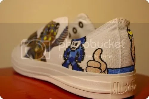 mega man shoe