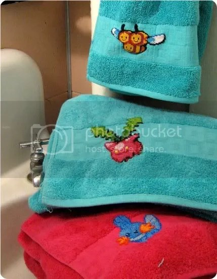 pokemon towels